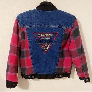 vintage arizona jeans denim jacket